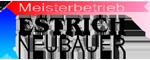 Meisterbetrieb Estrich Neubauer Logo